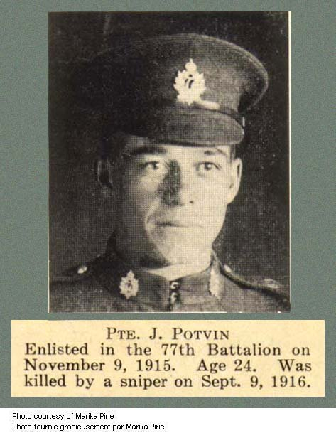 Photo of JOHN POTVIN