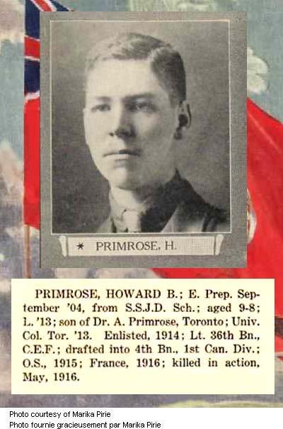 Photo of Howard Primrose