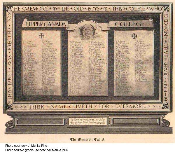 Memorial Tablet