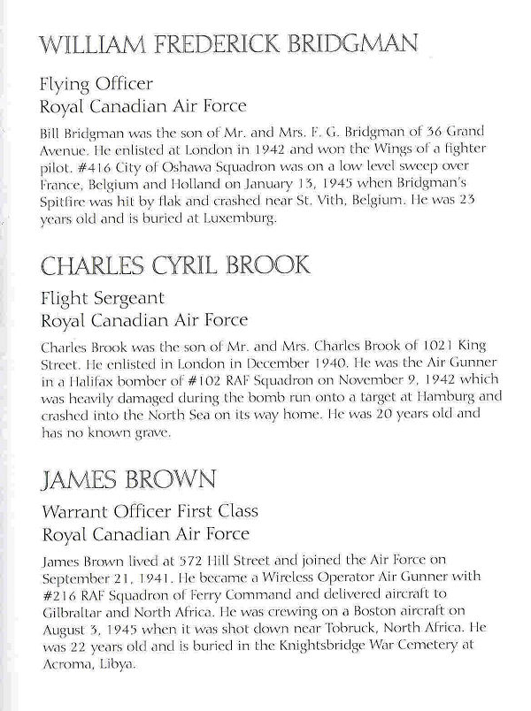 Book of Remembrance– City of London WW2 Books of Remembrance online.
