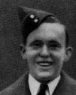Photo of William Wegenast– Wegenast, William Alexander - Flight Sergeant. Born 11th August, 1923, at Hamilton, Ont. Educated at High School of Commerce, Hamilton. Entered the service of the Bank 29th April, 1940. Served at King & Wellington and Main & Kenilworth (Hamilton). Enlisted 30th January, 1943, from the latter branch in R.C.A.F. Sergeant in December, 1943; subsequently Flight Sergeant. Trained at Toronto, Guelph, Ont., and Charlottetown, P.E.I.  Overseas in September, 1944.  Reported 29th January, 1945 missing after air operations, together with the six other members of the crew. Officially presumed dead 20th November, 1945. From a memorial booklet prepared by the Canadian Bank of Commerce.