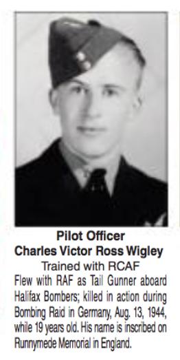Photo de CHARLES VICTOR ROSS WIGLEY – Soumis dans le cadre du projet : Operation Picture Me