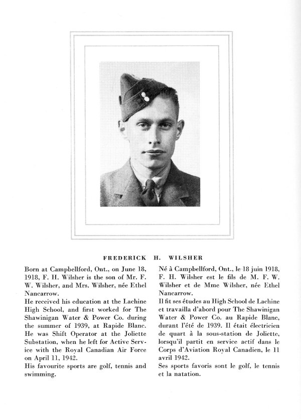 Photo of Frederick H. Wilsher