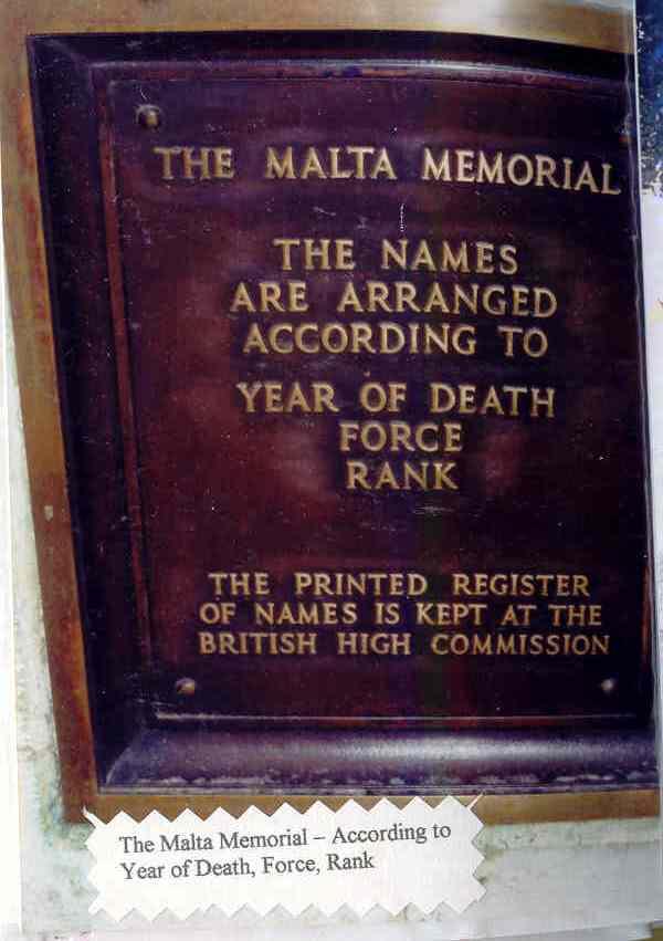 Malta Memorial