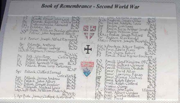 Page in the Book of Remembrance