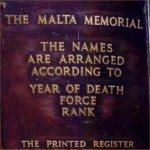 Malta Memorial– Malta Memorial