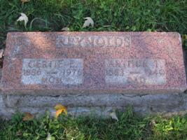 Grave marker– Parents grave marker. Submitted for the project, Operation Picture Me