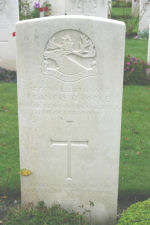 Grave Marker– Photo courtesy of Wilf Schofield, England