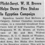 Newspaper Clipping– Newpaper Clipping regarding Wilfred Brown.