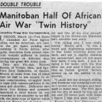 Newspaper Clipping 3– Newspaper article featuring Wilfred D. Brown.