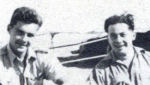 Group Photo– Frederick Albert Duquette in North Africa with radio operator Art Johnson 1942.