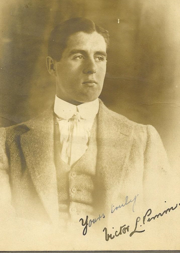 Photo of Victor Lionel Pimm– Born 1891 Hampstead Heath Middx London England died Ypers Belgium 1916