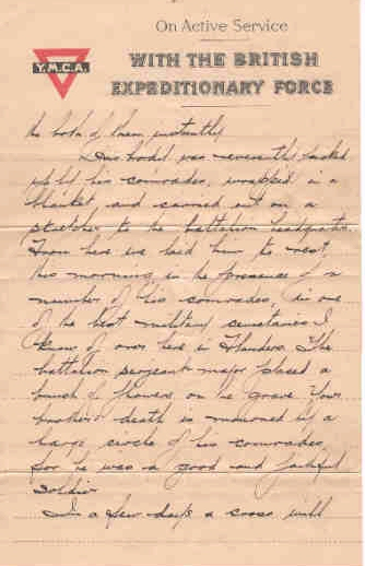 Page 2 of letter from Captain H. B. Clark