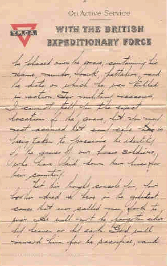 Page 3 of letter from Captain H. B. Clark