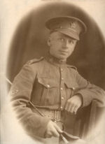 Photo of Lawrence Abbott– The picture came to me after my parents passed away and we could never put a name to it until today when a cousin let me know that we had a great uncle that it buried at Vimy Ridge. The date of his death corresponds with a notation my grandmother ,sister-in-law to Lawrence  Edgar Abbott, had made in a little booklet she had kept between 1916 and the early 70.s.