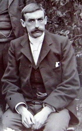 Photo of Albert Guest Adshead– Albert Guest Adshead in Manchester about 1895
