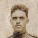 Photo of Davie Anderson– Davie Anderson, brave son of George and Agnes Anderson (nee Blair) of Oakville, Ontario, formerly of Alloa, Scotland.  Brother to George, Alexander, Agnus, Douglas, Bill and Mary Blair Anderson.
