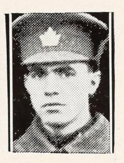 Photo of DAVIE ANDERSON– Photo from the National Memorial Album of Canadian Heroes c.1919. Submitted for the project, Operation: Picture Me.