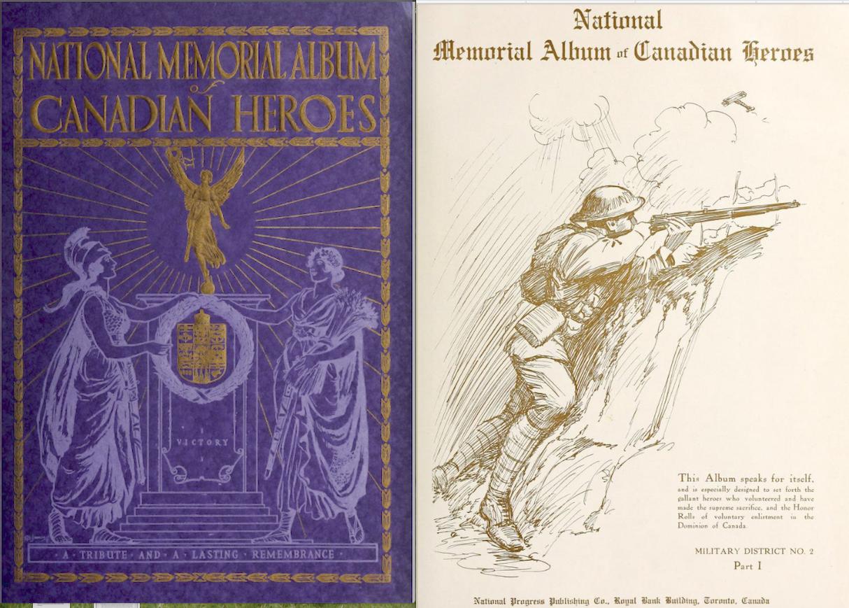 National Memorial Album of Canadian Heroes
