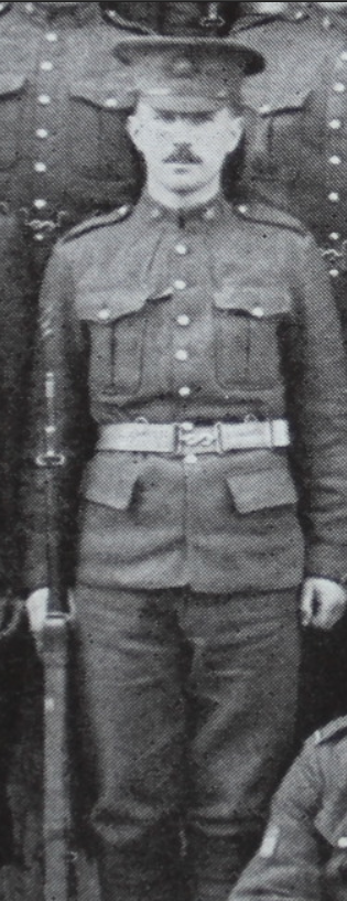 Photo of REGINALD JOHN GODFREY BATEMAN– In memory of the men from the 28th Battalion CEF who went to war and did not return. Submitted for the project, Operation: Picture Me