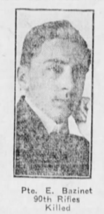 Newspaper Clipping– Winnipeg Evening Tribune, June 7, 1915