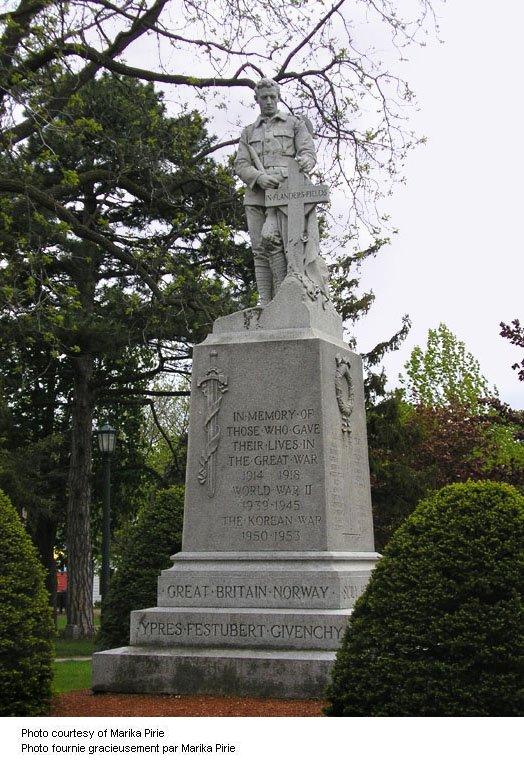 Milton Ontario War Memorial