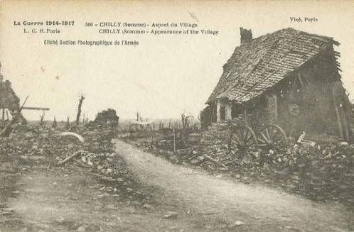 Chilly, La Somme, France
