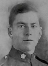 Photo of Cecil Russell Belcher– Pte Cecil Russell Belcher 70th Btn as remembered in the December 1918 edition of The Christmas Echo published in London Ontario ---And in the morning