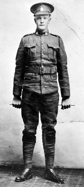 Photo of John (Jon) Benjaminson– Pvt. John (Jon) Benjaminson of Lundar, Manitoba. My paternal grandmother's older brother and my namesake.