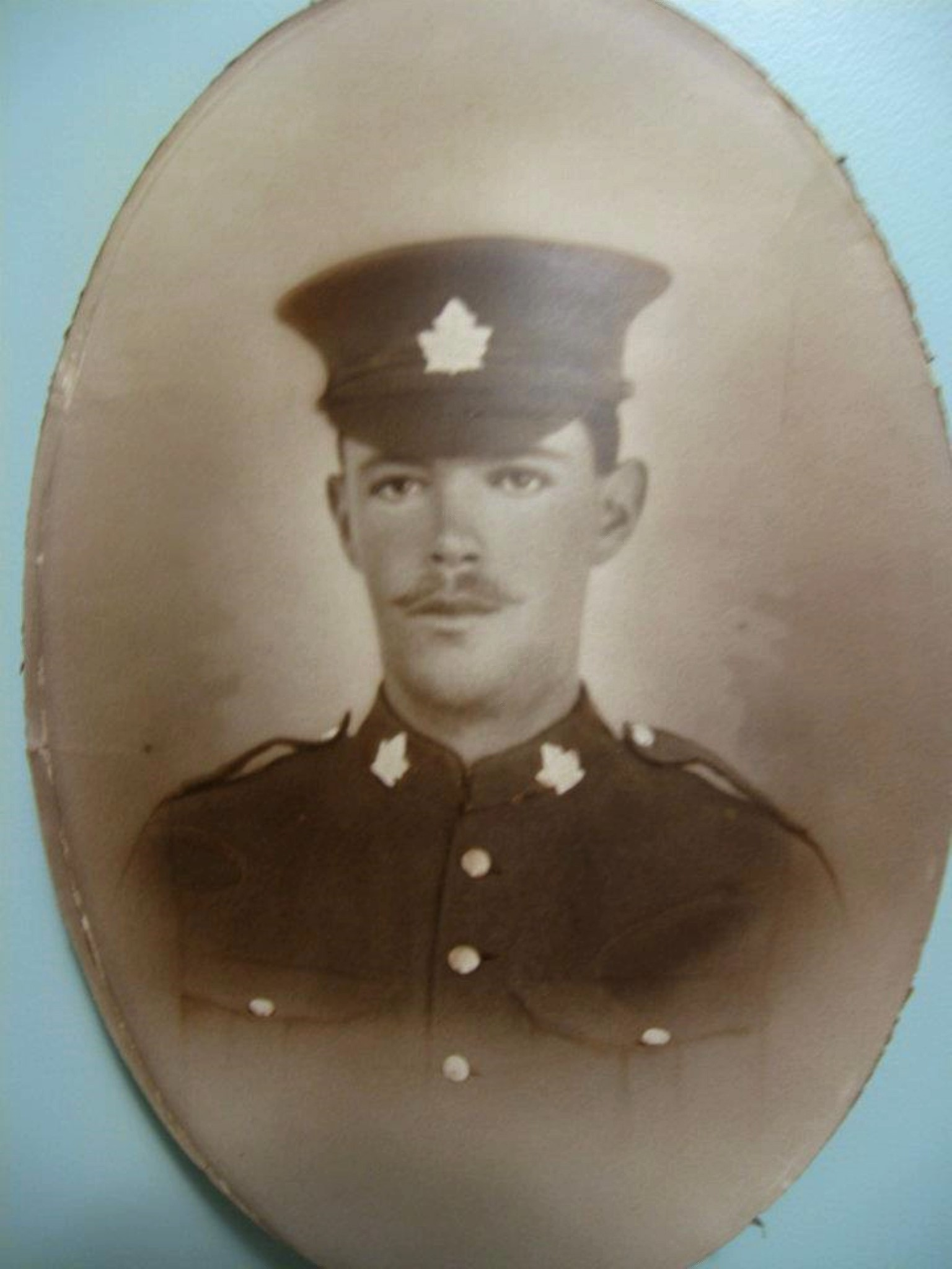 Photo of JAMES LESTER BENTLEY– Lester enlisted in the 25th Batallion of the Nova Scotia Regiment and was killed in action in France on April 29, 1917. He has no known grave but he is listed on the Vimy Ridge Memorial in Pas de Calais, France