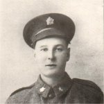 Photo of Cameron Robert Bissett– Enlisted January 9, 1918 with the Western Ontario Regiment. Transferred to the 47th Battalion, killed in action at Amiens.