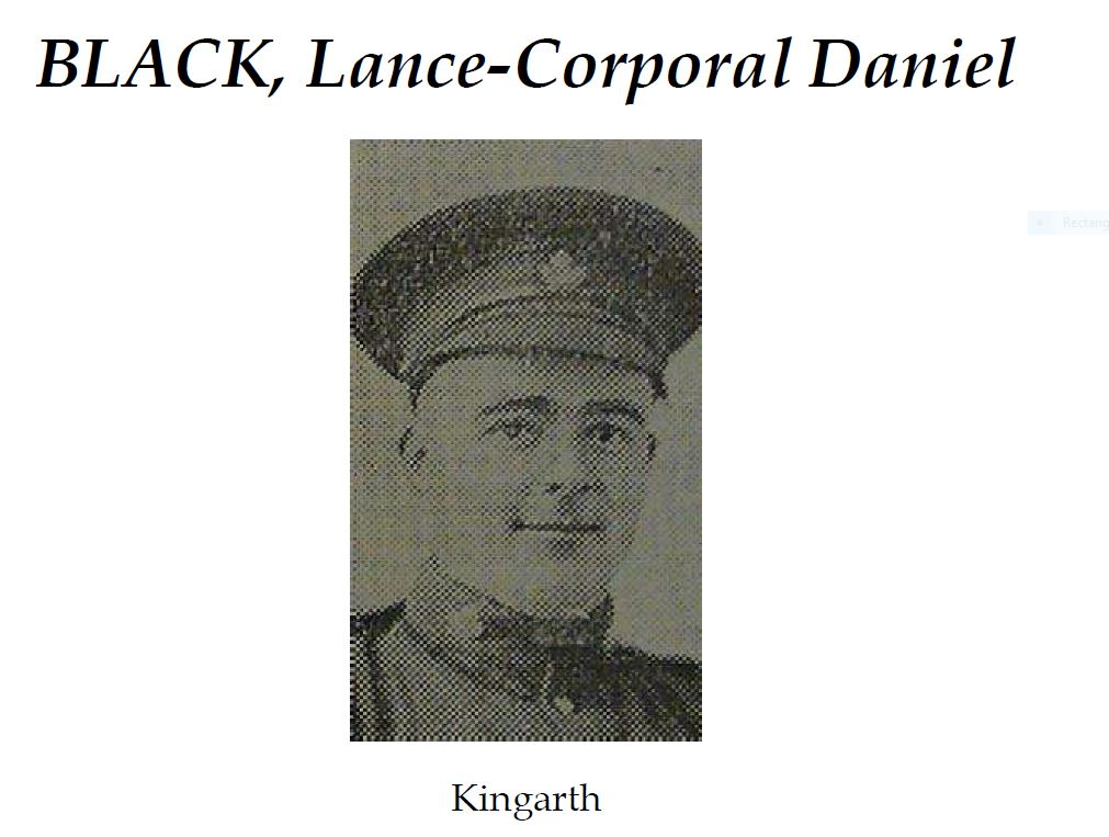 Photo of DANIEL BLACK