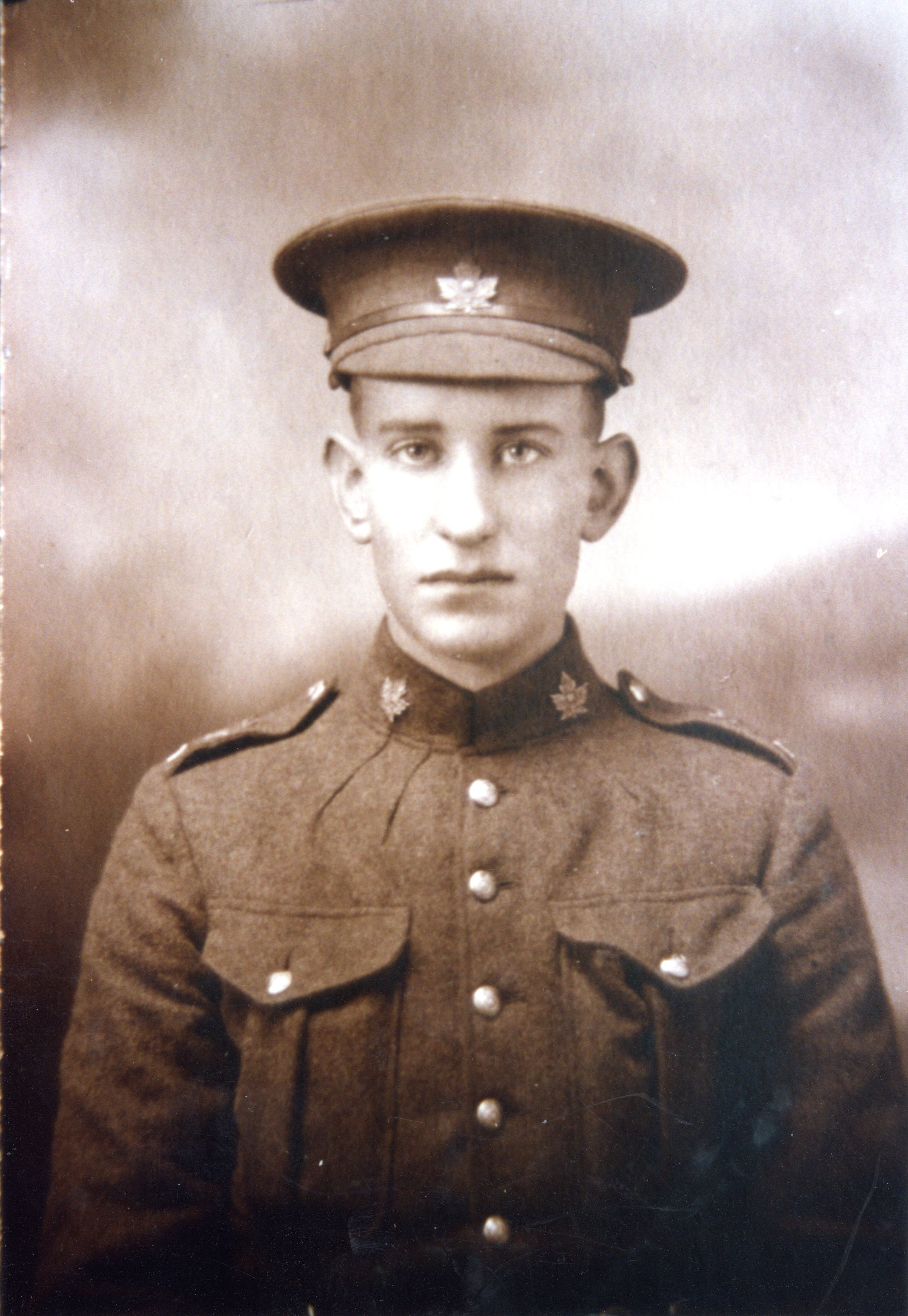 Photo of Claude Blois– Born in Selmah, Hants Co., NS.