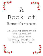 Oakville Remembers
