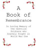 Oakville Remembers