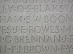 Inscription– Inscription on the Vimy Memorial Photo courtesy of J. Elliott/J. Rutledge, The Men of Huron WW1 Project