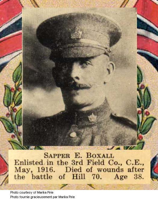 Photo of Ernest Boxall