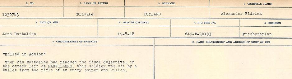 Death Registry