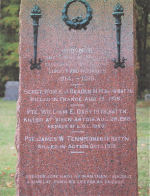 War Memorial– Memorial, Sebright Union Cemetery, Ramara, ON.