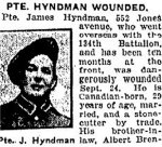 Newspaper Clipping– From the Toronto Star for 1 October 1917, page 8.