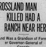 coupre de presse – Calgary Herald 8 juin 1915.