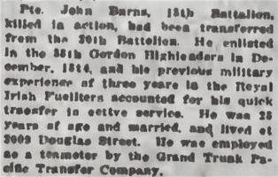 Coupure de presse – Extrait du Daily Colonist, le 8 juin 1915. Source:f https://archive.org/stream/dailycolonist57y154uvic#mode/1up
