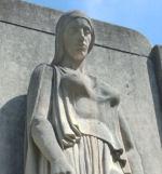 Plan rapproché du Monument de guerre de Galt – Détail du Monument de guerre de Cambridge (Galt).
