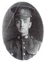 Photo of Robert Earl Calvert– June 6, 1898 - September 16, 1916 Killed near Courcelette, France 'Battle Of the Somme'