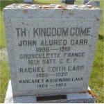 Commemorative headstone– Commemorative headstone in Virden cemetery, Virden, Manitoba.