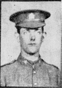 Newspaper clipping– In memory of the men and women of London, Ontario (and area) who went to war and did not come home. Remembered on the pages of the World War One issues of the London Advertiser. Submitted for the project, Operation Picture Me