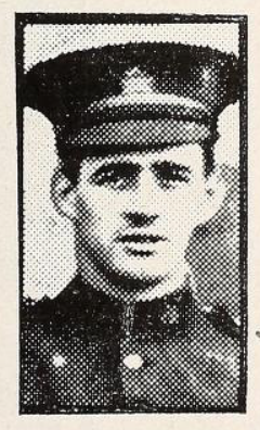 Photo of Herbert Clegg– Photo from the National Memorial Album of Canadian Heroes c.1919. Submitted for the project, Operation: Picture Me.