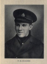 Photo of Howard Crabbe– From Memorial of the Great War, 1914-1918 published by the Bank of Montreal 1921.
