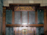 Roll of Honour– The Roll of Honour inside All Saints Church.