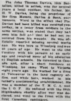 Newspaper clipping– From the Daily Colonist of June 30, 1915. Image taken from web address of https://archive.org/stream/dailycolonist57y173uvic#mode/1up